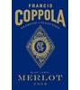 Francis Ford Coppola Diamond Collection Blue Label Merlot Petite Sirah Syrah 2007