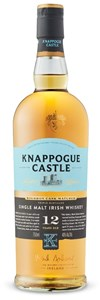 Knappogue Castle 12 Years Old Irish Single Malt Whiskey Aged In Bourbon Oak Casks