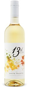 13th Street Winery White Palette 2012