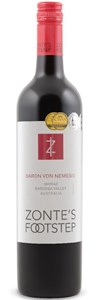 Zonte's Footstep Shiraz 2012