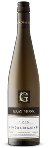 Gray Monk Estate Winery Gewürztraminer 2015