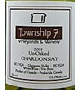 Township 7 Vineyards & Winery Okanagan Unoaked Chardonnay 2009