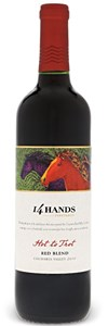 Ste. Michelle Wine Estates 14 Hands Hot to Trot Red Blend Hot to Trot 14 Hands Vineyards Columbia Valley 2009