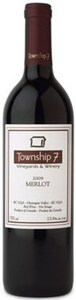 Township 7 Vineyards & Winery Okanagan Merlot 2008