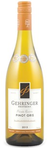 Gehringer Brothers Private Reserve Pinot Gris 2013