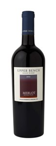 Upper Bench Estate Winery Merlot 2012