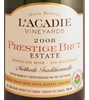 L'Acadie Vineyards Prestige Brut Sparkling Wine 2010
