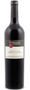 Robertson Winery Prospect Hill Limited Release Cabernet Sauvignon 2008