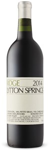 Ridge Vineyards Zinfandel Petite Sirah Carignan 2004