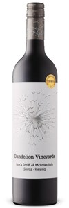 Dandelion Lion's Tooth Of Mclaren Vale Shiraz Riesling 2016