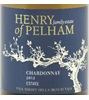 Henry of Pelham Winery Barrel Fermented Chardonnay 2011