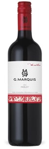 G. Marquis Vineyards The Red Line Merlot 2014