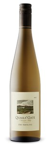 Quails' Gate Estate Winery Dry Riesling 2013