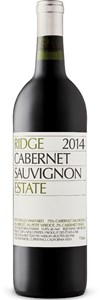 Ridge Vineyards Monte Bello Vineyard Cabernet Sauvignon Merlot 2012