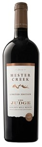 Hester Creek Estate Winery The Judge Golden Mile Bench 2016