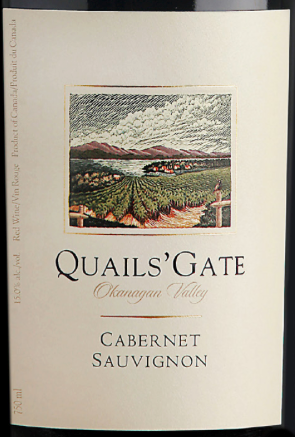 Quails Gate Estate Winery Cabernet Sauvignon 2015 Expert