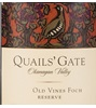 Quails' Gate Estate Winery Old Vines Foch Reserve 2015