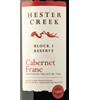 Hester Creek Estate Winery Block 3 Reserve Cabernet Franc 2014