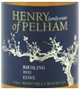 Henry of Pelham Winery Riesling 2012