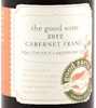 The Good Wine The Good Earth Vineyard & Winery Cabernet Franc 2011