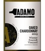 Adamo Estate Winery Oaked Wismer Foxcroft Vineyard Chardonnay 2015