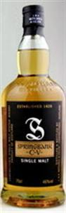 Springbank Cv Campbeltown Single Malt Whisky