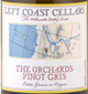 Left Coast Cellars The Orchard Pinot Gris 2014