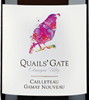 Quails' Gate Estate Winery Gamay Nouveau 2016