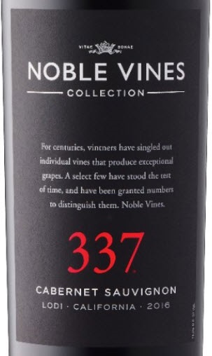 Black Label Price >> Noble Vines 337 Cabernet Sauvignon 2016 Expert Wine Review ...