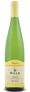 Willm Reserve Riesling 2012