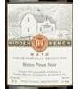 Hidden Bench Winery Bistro Pinot Noir 2013